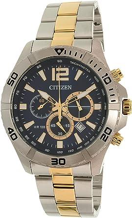 48ffaa47ce [シチズン] CITIZEN 腕時計 クロノグラフ クオーツ AN8124-56L ネイビー メンズ 海外モデル [
