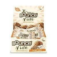 Bounce V Life Vegan Protein Energy Ball Coconut Cumin, 40 g, Pack of 12