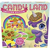 Candy Land Unicorn Edition Board Game, Preschool Game, No Reading Required Game for Young Children, Fun Game for Kids Ages 3