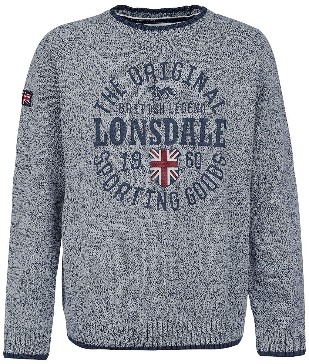 Lonsdale London Borden Sweatshirt grau