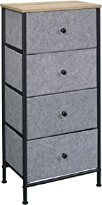 Sauder 425062 North Avenue 1 X 4 Storage Organizer, Charter Oak Finish