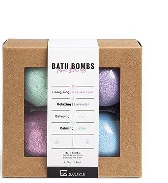Comprar IDC Institute Pure Energy - Bombas de baño, 4 x 70 g