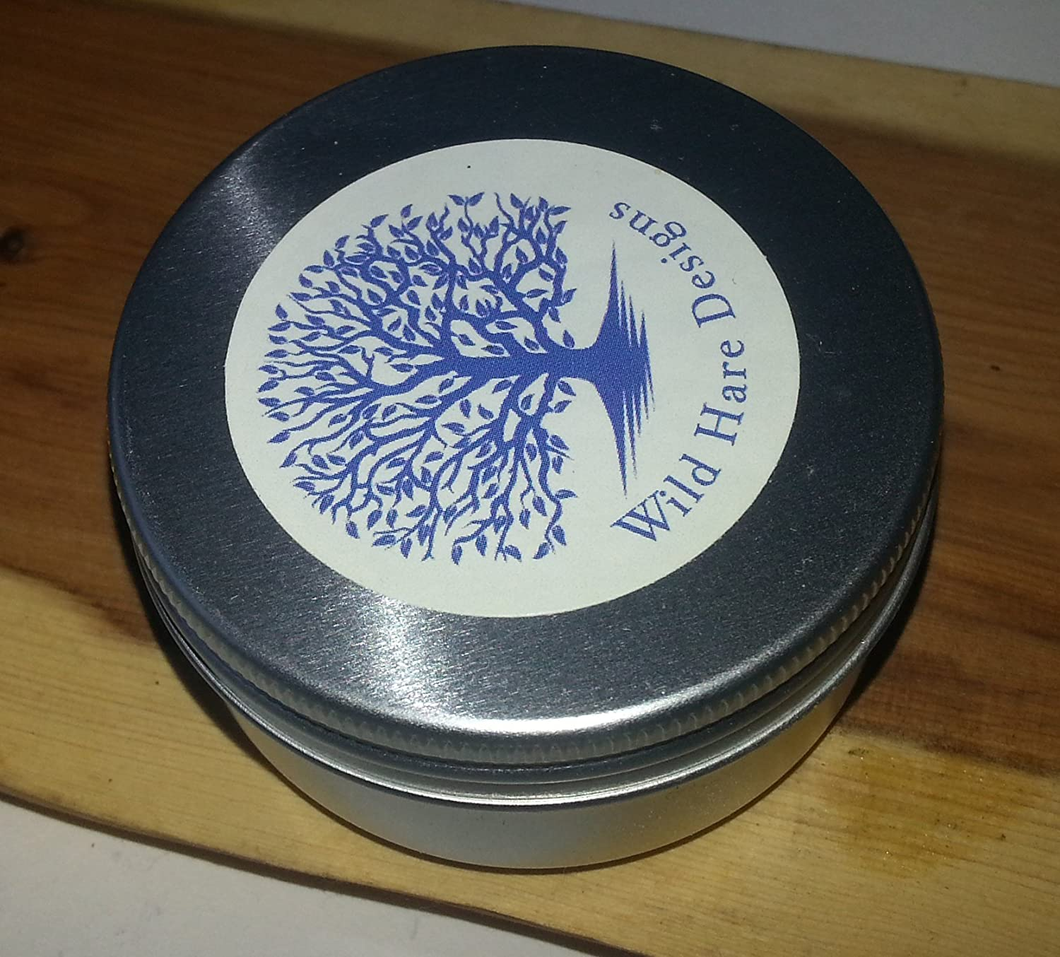 Natural Organic furniture/wood polish with essential oils- THREE pots.