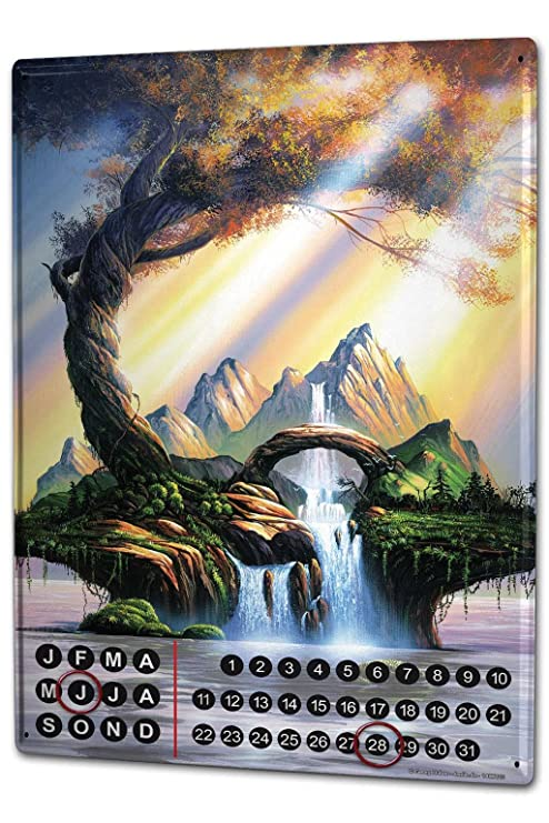 Calendario Esoterico.Calendario Perpetuo Esoterico G Huber Fiume Magnetico