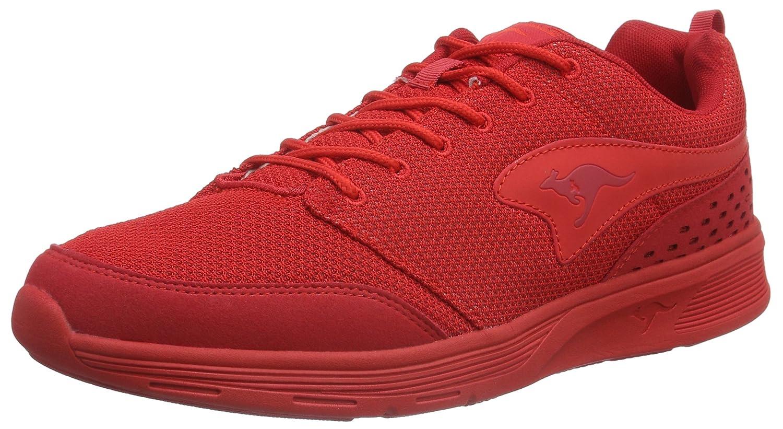 Kangaroos 47141 - Zapatillas de Sintético Unisex Adultos 41 EU|Rojo - Rot (Flame Red 670)