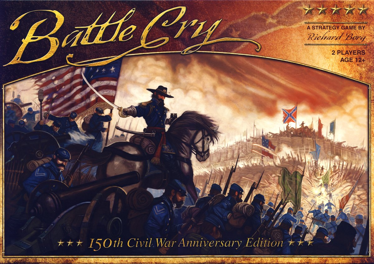 Wizards of the Coast 282950000 - Avalon Hill - Battle Cry, Brettspiel
