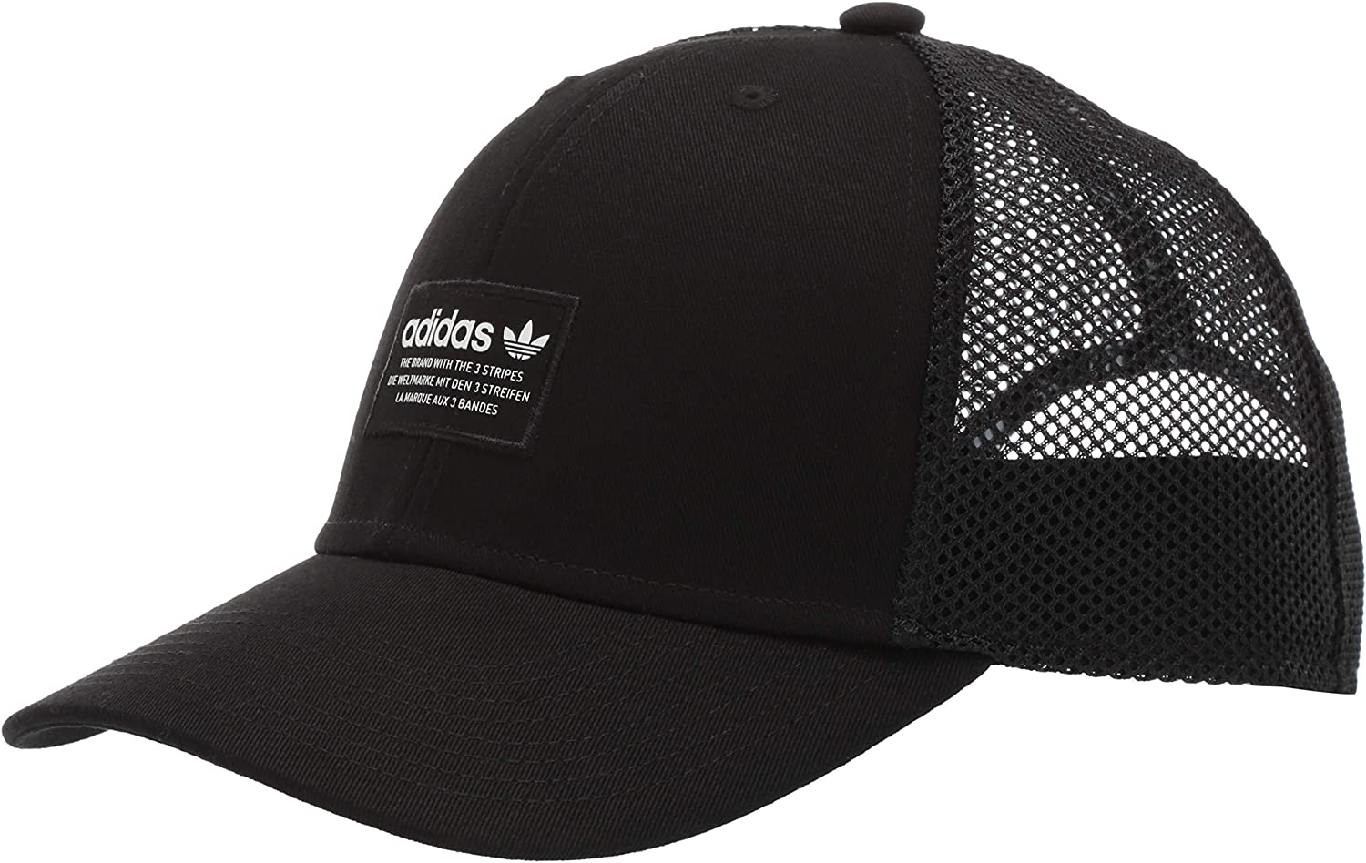 adidas Mens Originals Trefoil Trucker Cap: Amazon.es: Deportes y ...