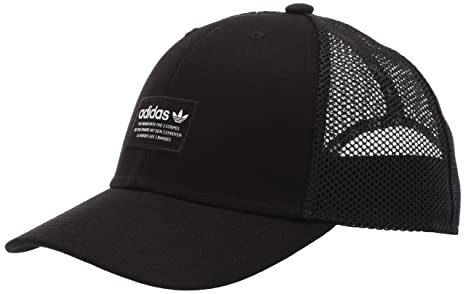 7770d6353af2d Amazon.com  adidas Men s Originals Trefoil Trucker Cap