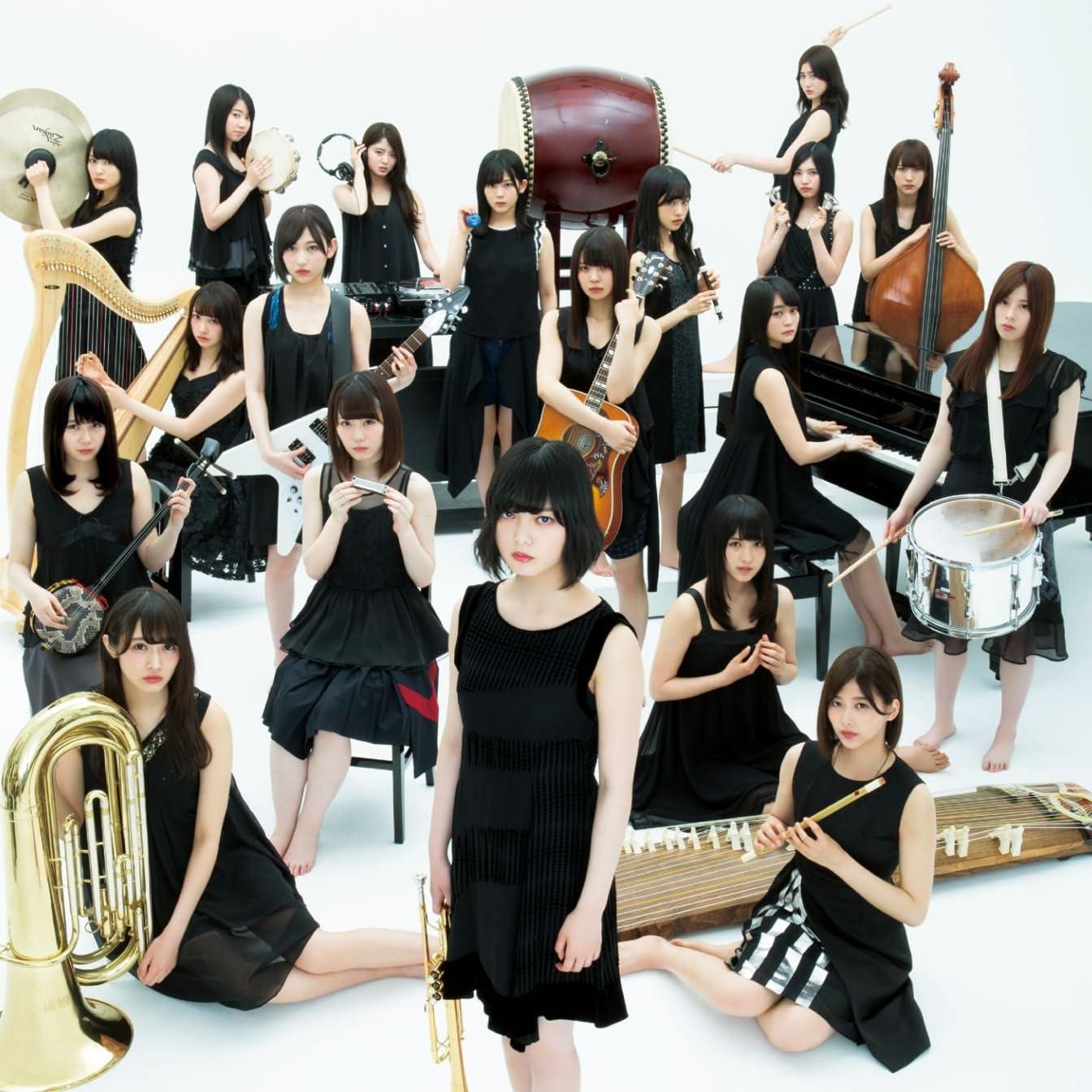 欅坂46 楽器を持った欅坂46 Ipad壁紙 画像72492 スマポ