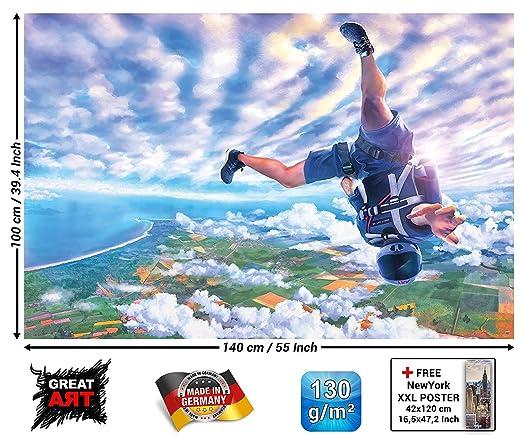 5 opinioni per Poster Salto col paracadute Avventura