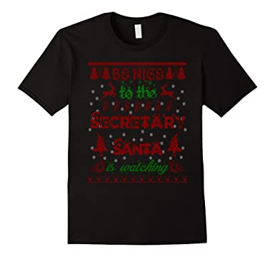 Amazon.com: Secretary Shirt Christmas Gifts Women Men Secretary T ...