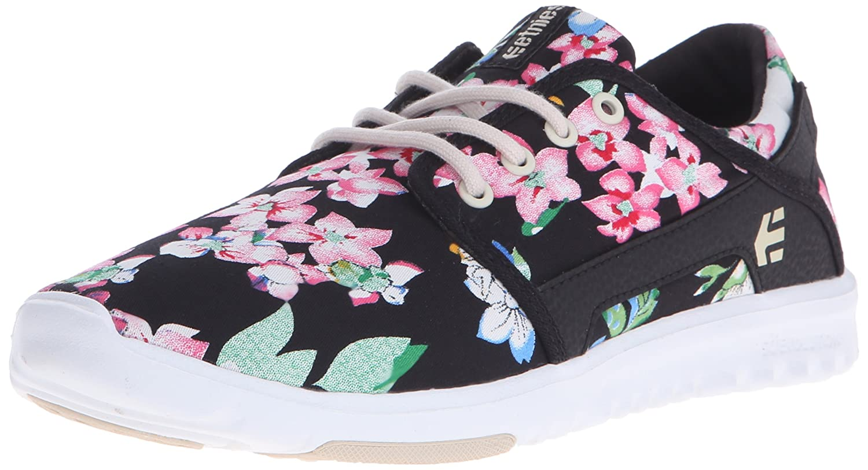 Etnies Womens Scout Sneaker B00Y1PKJKQ 8 B(M) US Black/Floral