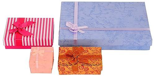 Buy THE ETHNIC WEARS Paper Jewelry Box - Set of 4 (JBC-0008) Online ... bbc969687ac04