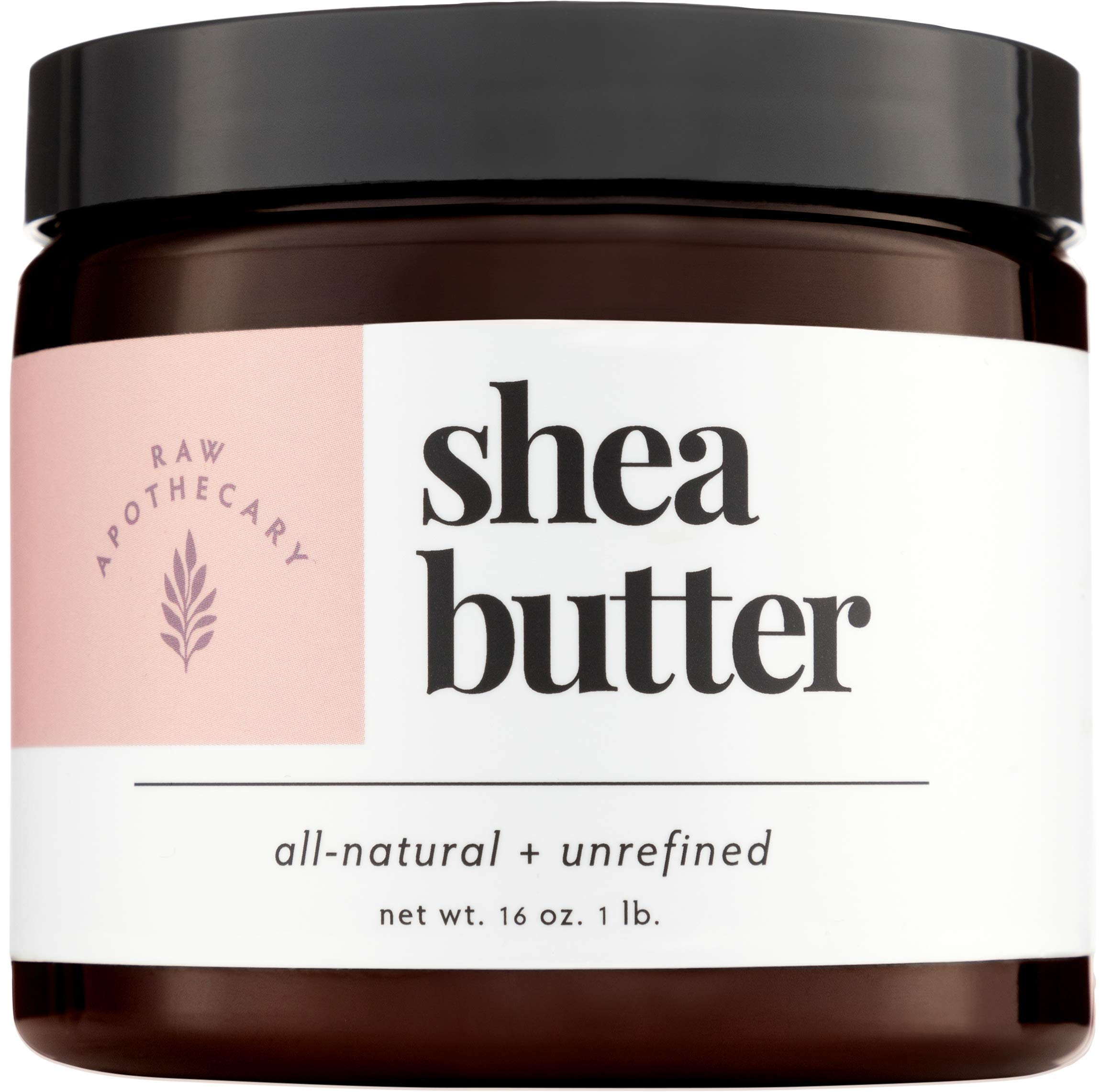 Ivory Shea Butter, 100% All Natural by Raw Apothecary- Top-Grade, Unrefined and Additive Free Ivory Butter (1 Pound) by Raw Apothecary