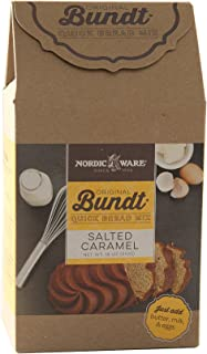 product image for Nordic Ware Gourmet Bundt Salted Caramel Quickbread Mix, Brown
