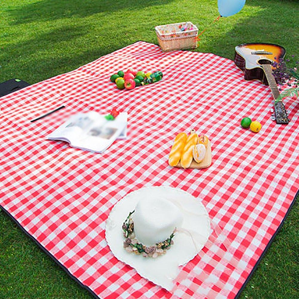 Outdoor Portable Frühling Ausflug verdicken feuchtigkeitsdichte Pad Picknick-Matte Rasen Camping Picknick Tuch (Farbe   Grün) B07D5CR151   Die erste Reihe von umfassenden Spezifikationen für Kunden