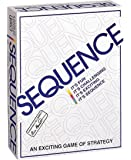 SEQUENCE- Original SEQUENCE Game with Folding Board, Cards and Chips by Jax