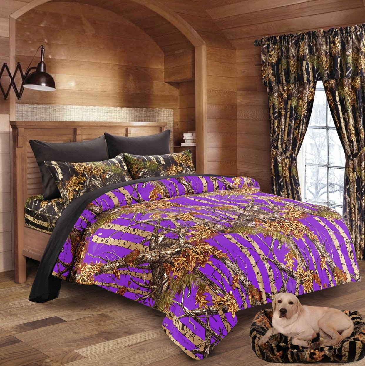 Hunter Camo Comforter, Sheet, & Pillowcase Set