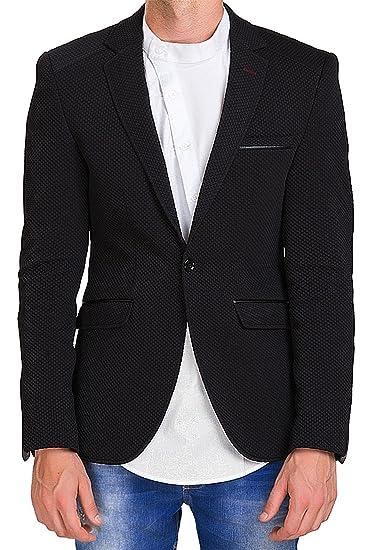 Red Bridge Cipo Baxx Herren Blazer Sakko Blouson Freizeit Slim Fit Jacket  Bordeaux (XXL, fc55c03941
