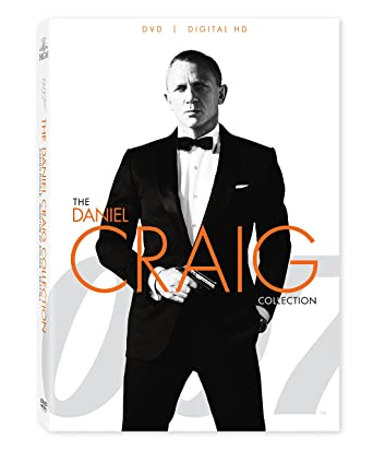 """Daniel Craig as James Bond in """"Casino Royale"""", """"Quantum of Solace"""", and """"Skyfall"""""""