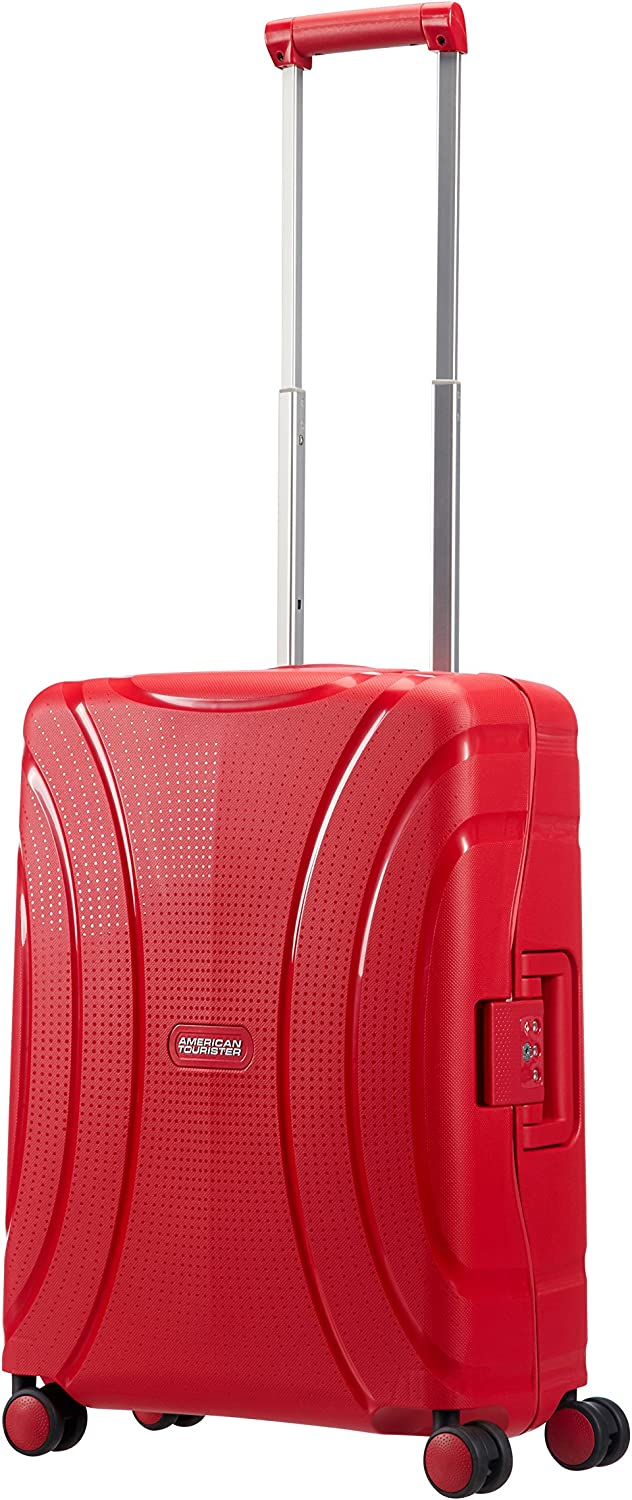 Formula Red 37 liters Red American Tourister Durchl/äufer NOS 55 cm Hand Luggage