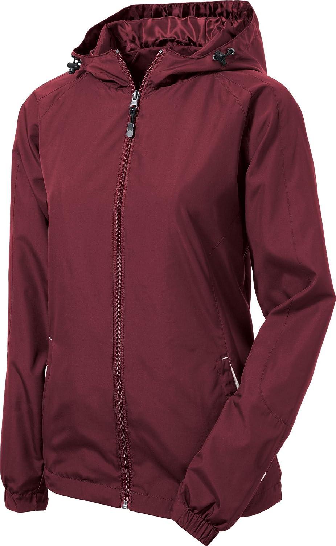 Sport-Tek Women's Colorblock Hooded Raglan Jacket
