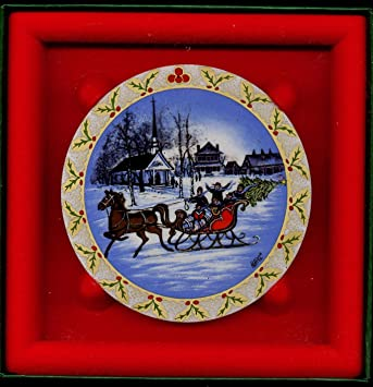 Image Unavailable. Image not available for. Color: 1992 P. Buckley Moss The  Sleighride Christmas Ornament ... - Amazon.com: 1992 P. Buckley Moss The Sleighride Christmas Ornament