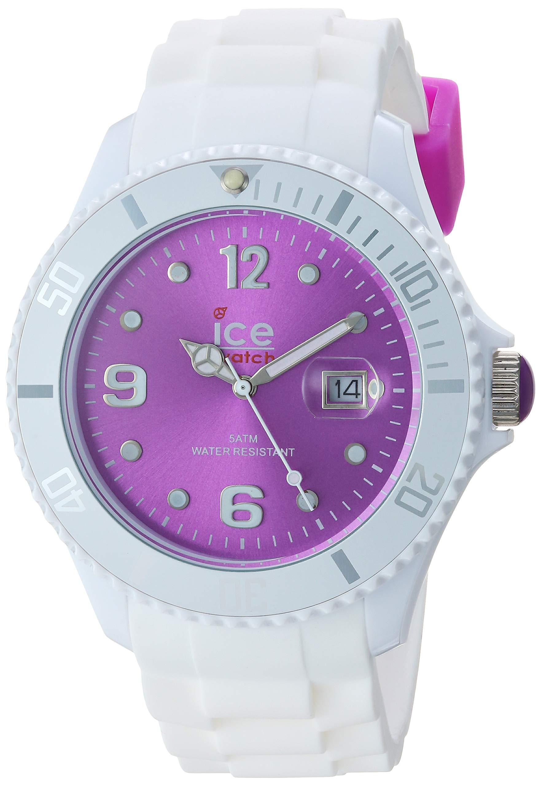 Sili - Big 48 - White Purple - Silicone