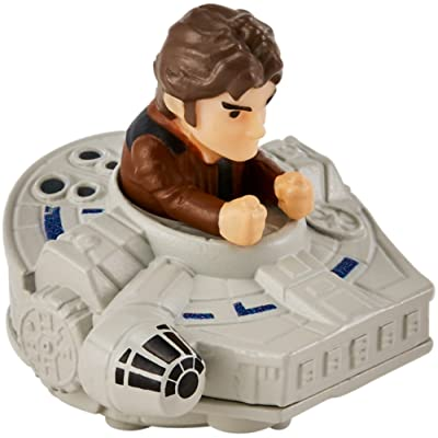 Hot Wheels Star Wars Han Solo Millennium Falcon Vehicle: Toys & Games