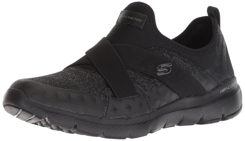 Skechers Flex Appeal 3.0-Finest Hour, Zapatillas sin Cordones para Mujer