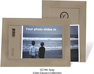 "product image for Photo Note Cards for 4"" x 6"" image 10 Pack with Envelopes ColorClassics (Gray)"