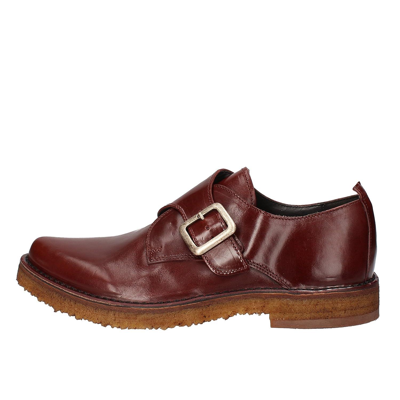 MOMA Elegante Schuhe Herren Herren Herren Leder Burgund B07MJQQ68V  d1fd6e