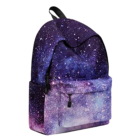 "Artone Universe Galaxy Padded Daypack with Laptop Compartment Fit 14"" Laptop Deep Blue"