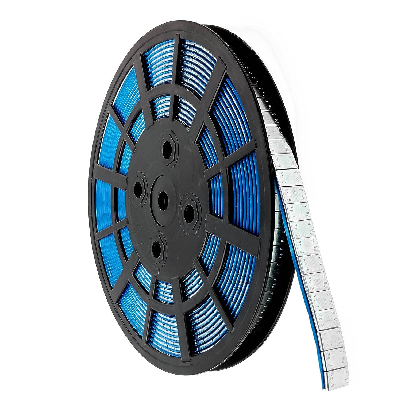 Unbekannt auswucht Poids de rôle 1200x 5g Poids Acier galvanisé Bord de voiture Alu Jantes 6kg de réparation Changement de pneus et roues Stix