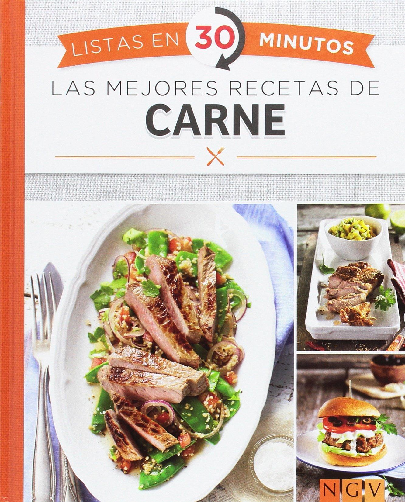 Las Mejores Recetas De Carne. Listas En 30 Minutos: Amazon.es: Vv.Aa: Libros