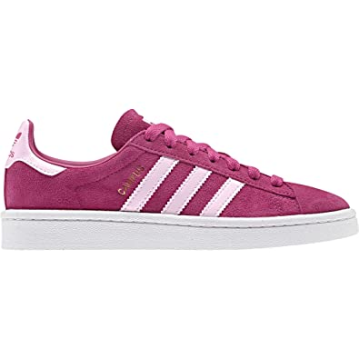 2f590dc41 Amazon.com | adidas Originals Campus J Real Magenta Suede Youth Trainers  Shoes | Sneakers