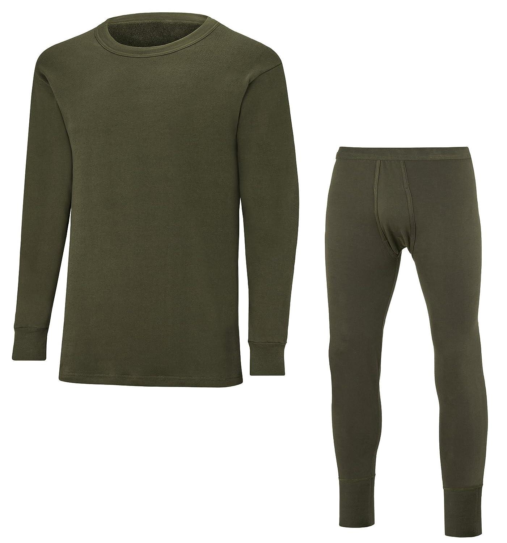 Bundeswehr Plüschunterwäsche Set - Hose und Langarm Unterhemd