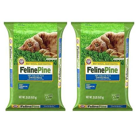 Amazon.com: Felino pino Original para arena de gato, bolsa ...
