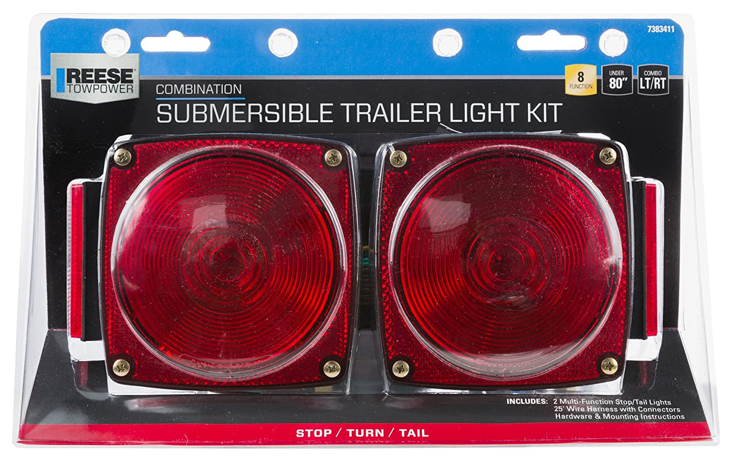 Reese Towpower 7383411 Submersible Trailer Light Kit Led Together With Wiring Under 80 Automotive
