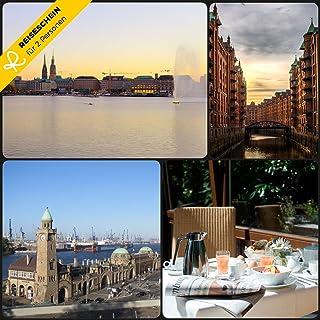 Schein Bon d'achat de voyage 3jours Escapade à Hambourg l'Hôtel Ange * * * * Reiseschein