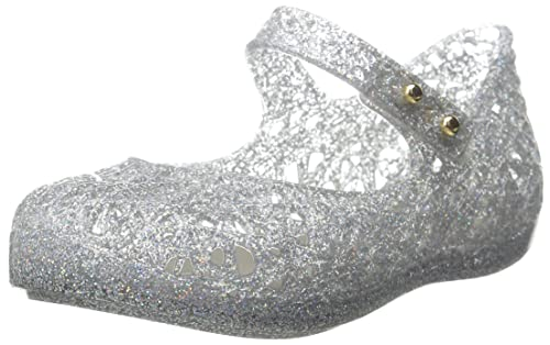 Melissa Toddler's Zig Zag Shoes Silver