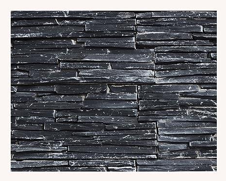 Hochwertig 1 Muster W 007 Schiefer Wand Design Naturstein Steinwand Wandverkleidung  Mosaikfliesen Verblender Lager Verkauf Stein Mosaik Herne NRW: Amazon.de:  Baumarkt