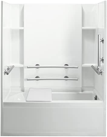 Sterling Plumbing 71150125 0 Accord Bath Tub And Shower Kit 60 Inch X
