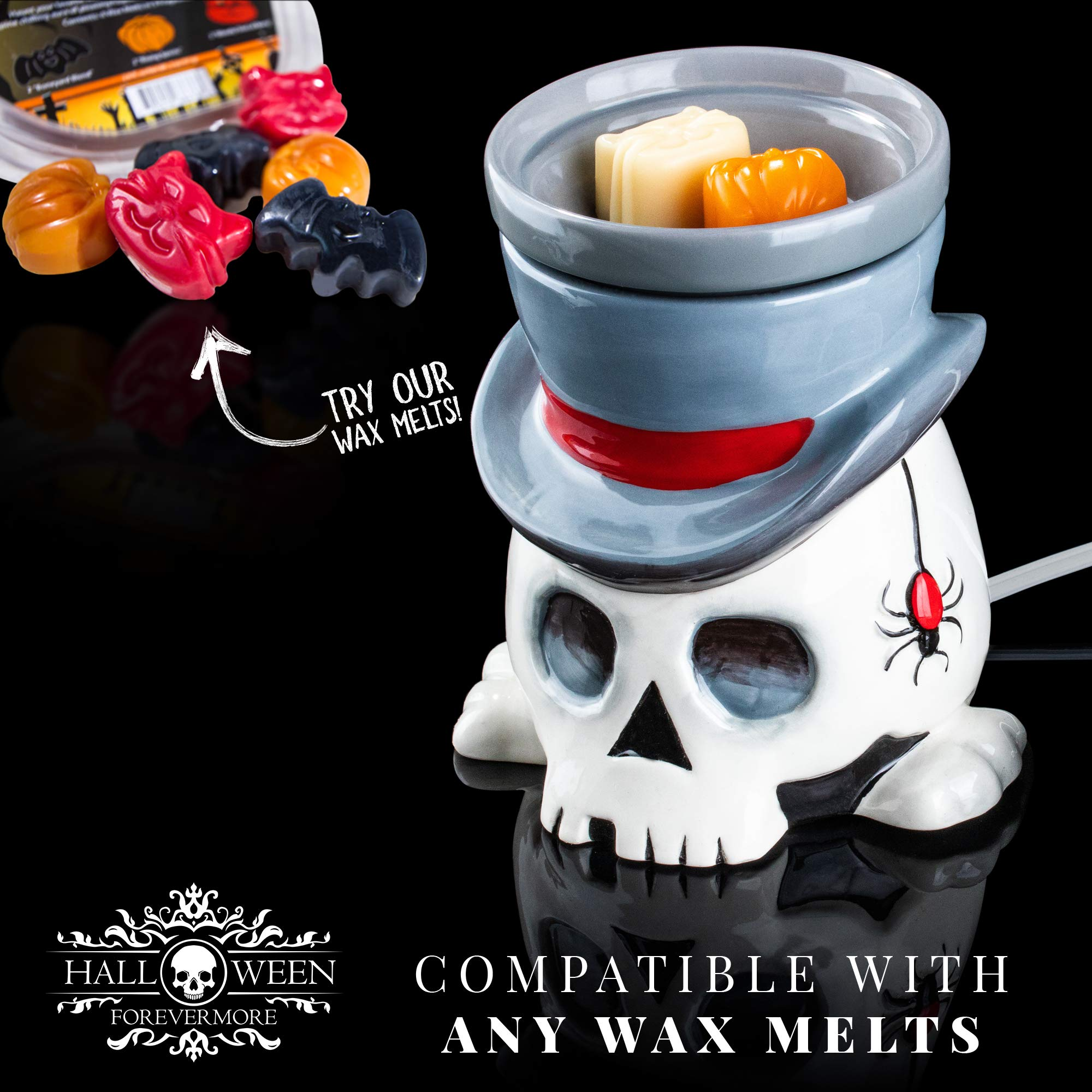 The Undertaker Horror Style Wax Warmer by Halloween Forevermore (Image #6)
