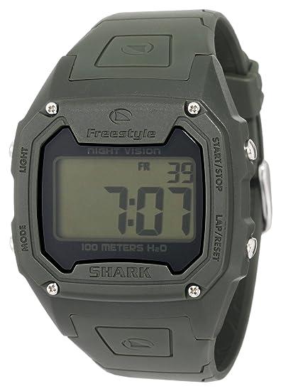 Freestyle FS84974 - Reloj Digital de Cuarzo para Hombre con Correa de Caucho, Color Verde: Amazon.es: Relojes