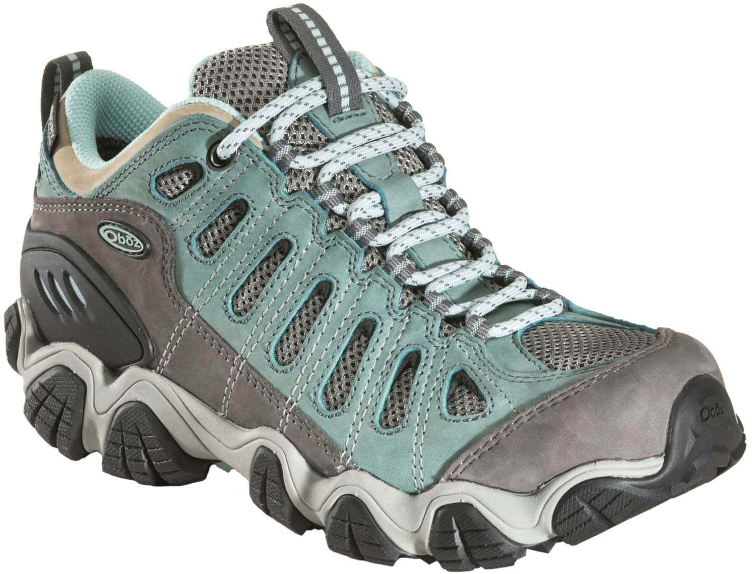 Oboz Sawtooth Low BDry Hiking Shoe - Women's Mineral Blue 9