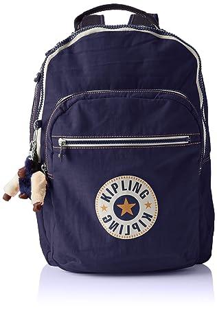 Kipling CLAS SEOUL Mochila escolar, 45 cm, 25 liters, Azul (Active Blue Bl): Amazon.es: Equipaje