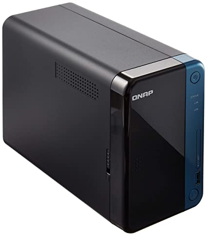QNAP TS-253Be-4G-US (4GB RAM Version) 2-Bay Professional NAS  Intel Celeron  Apollo Lake J3455 Quad-core CPU with Hardware Encryption