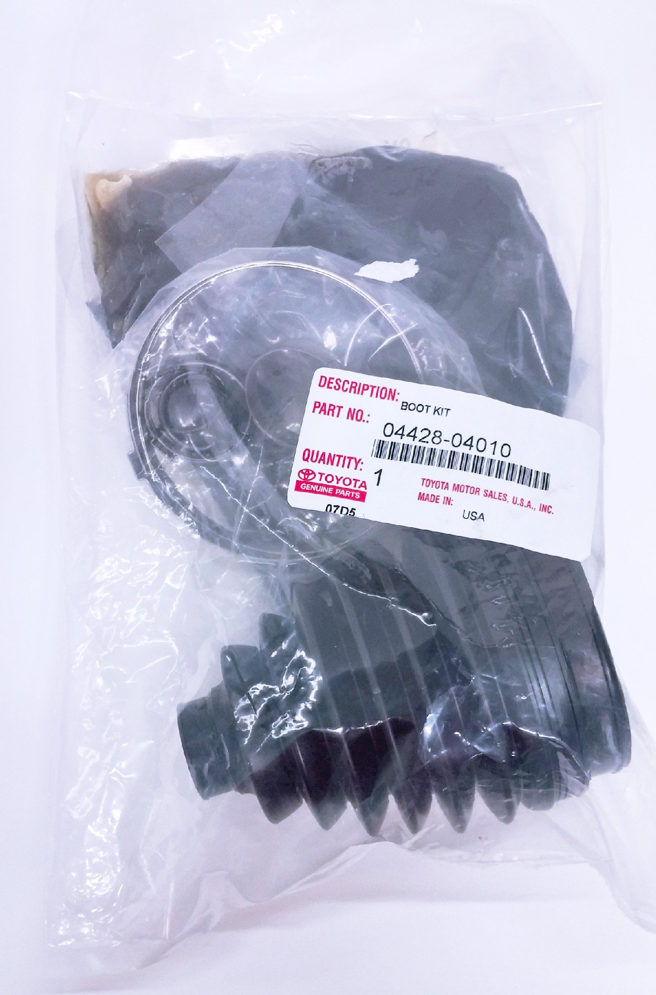 Toyota 04428-04010, CV Joint Boot Kit