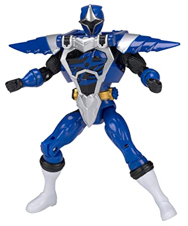 Power Rangers Ninja Steel 5-Inch Armored Blue Ranger Action Hero Figure